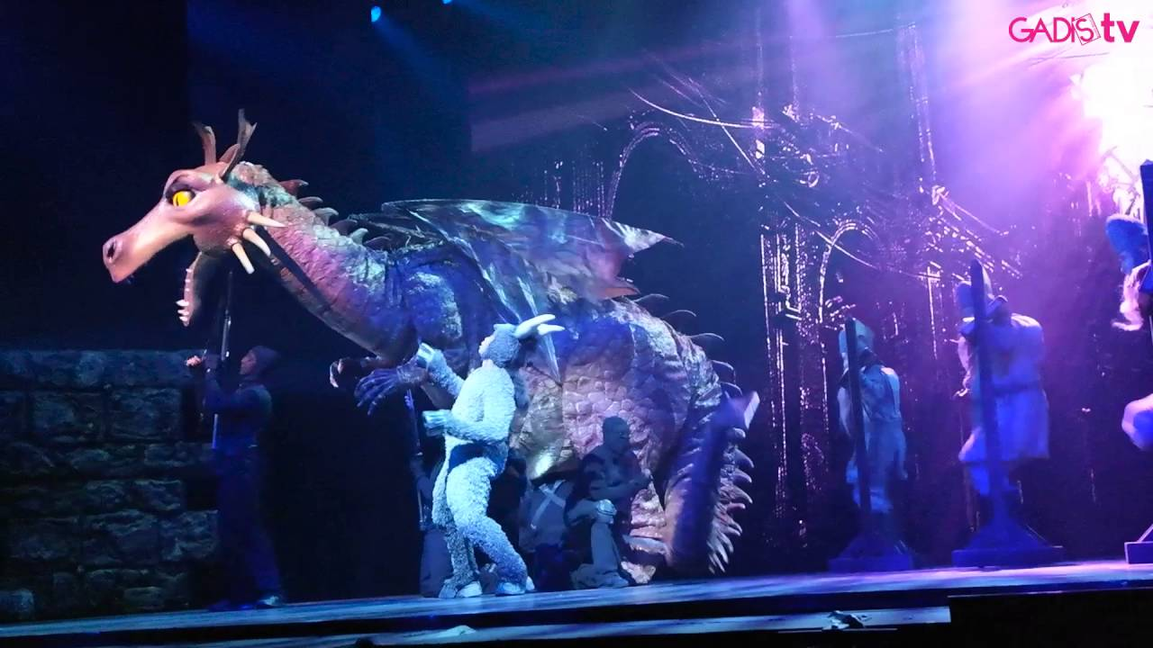 Dragon Donkey Forever Live At Shrek The Musical Youtube