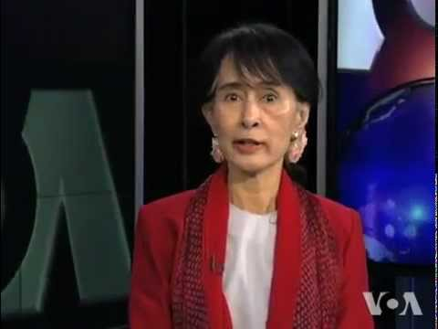 Aung San Suu Kyi Voice of America Interview September 18, 2012