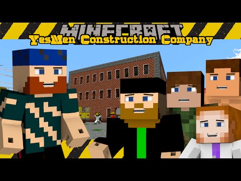 Minecraft SMP | YesMen Construction Company | #2 WAREHOUSE