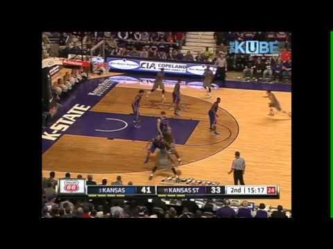 2013 K-State vs KU Basketball-2nd Half