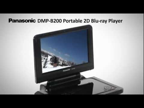 Panasonic DMP-B200 Portable Blu-Ray Player