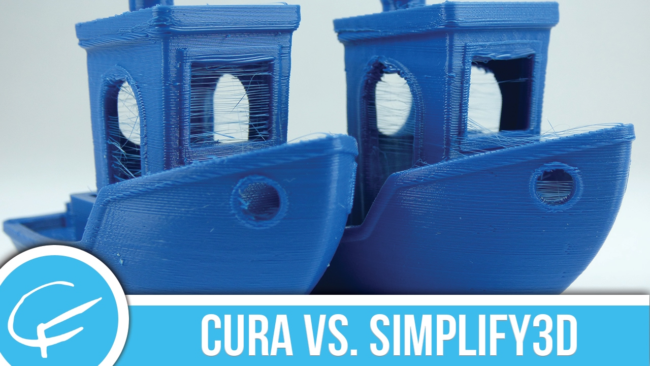 Cura Vs  Simplify3D: A Slicer Comparison with #3DBenchy