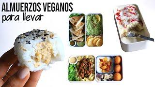UNA SEMANA DE ALMUERZOS PARA LLEVAR | Vegano & Saludable