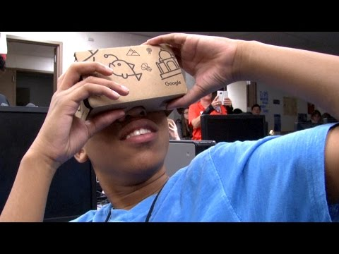 Google Expedition Pioneer Program Visits Twin Creeks Middle School