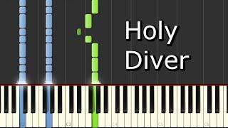 [Dio - Holy Diver] Piano Tutorial