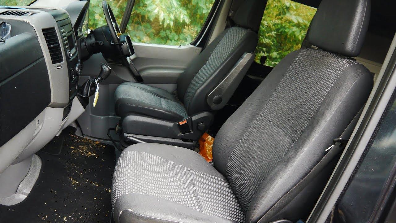 9fba77a233 Sprinter Single Seat Install Mercedes Diy