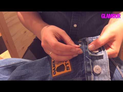 Von wegen Niete: Costumized Levi's Jeansjacke