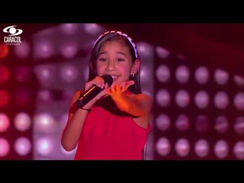 María José cantó 'Antes de las seis' de Shakira – LVK Colombia – Audiciones a ciegas – T1