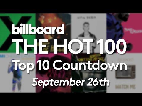 Official Billboard Hot 100 Top 10 September 26 2015 Countdown
