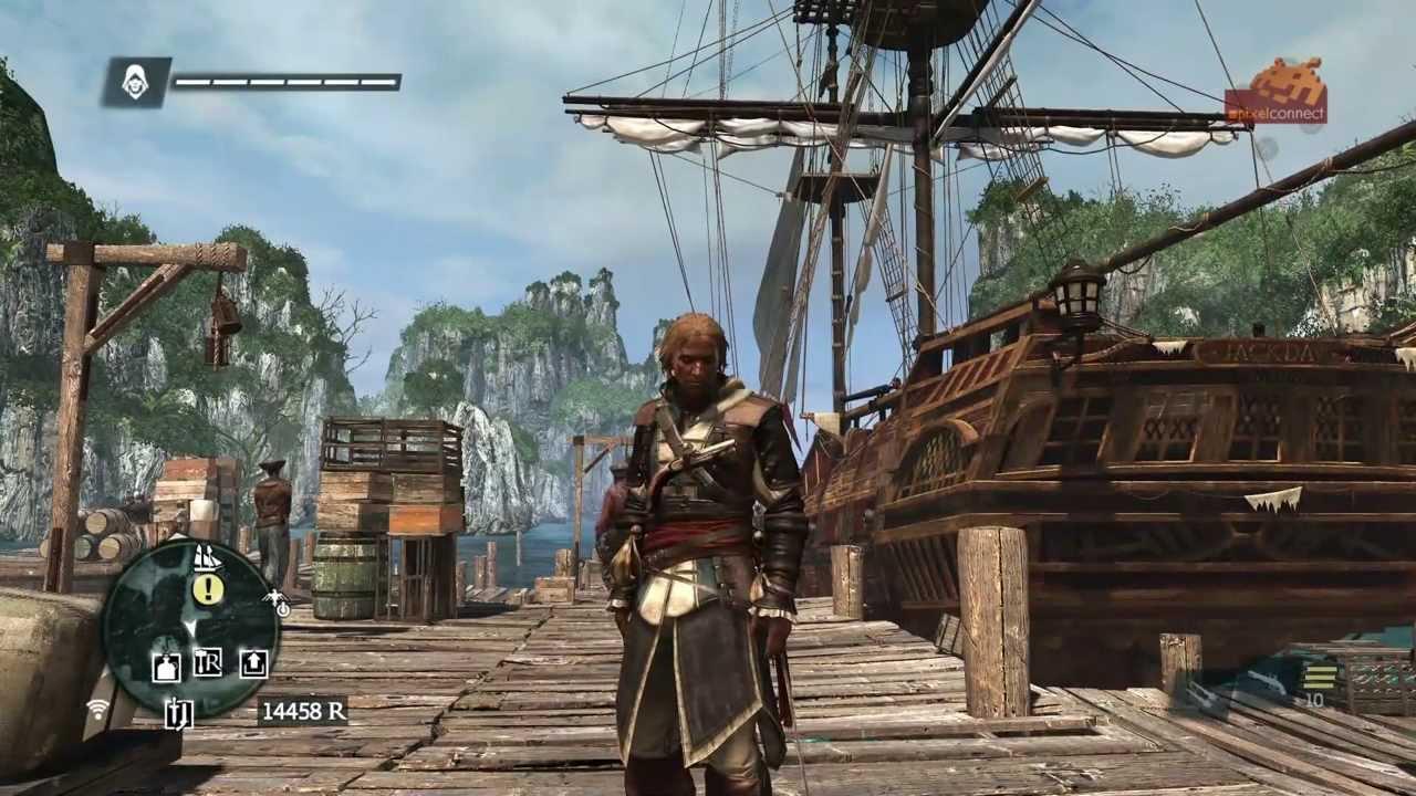 Assassins Creed Unity (PS4) Walkthrough PART 4 [1080p