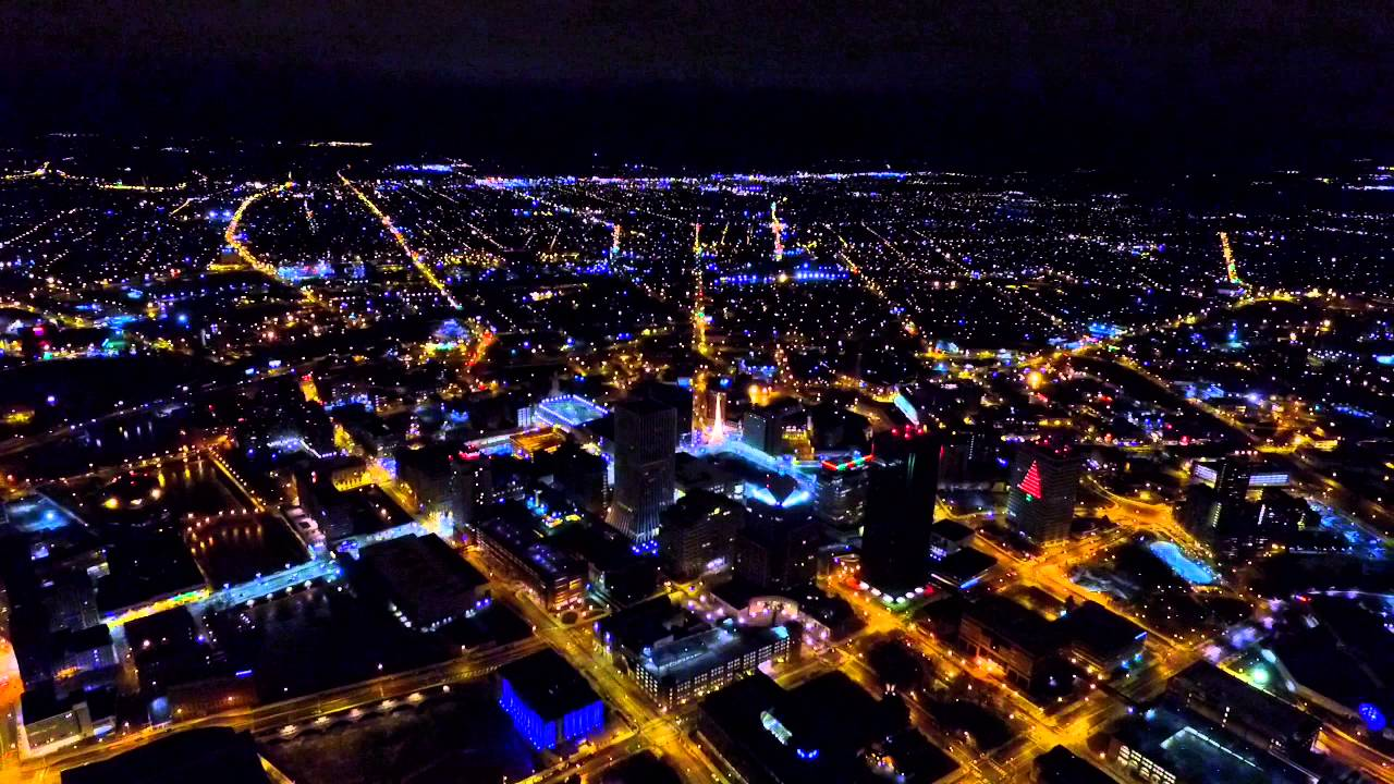 flying a drone over rochester new york youtube