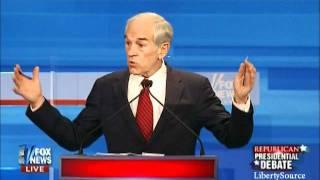 Ron Paul vs. Michele Bachmann on Iran Fox Iowa Debate 12-15-11