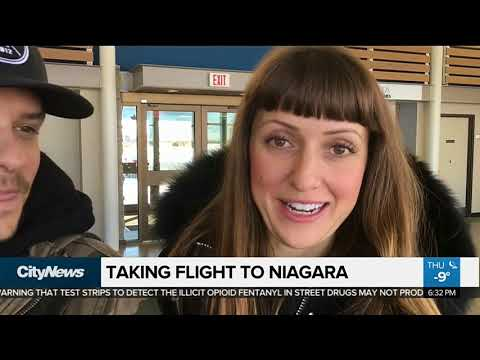 Taking Flight From Toronto To Niagara Falls
