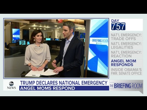 The Briefing Room: Trump declares emergency to get border wall money | ABC News