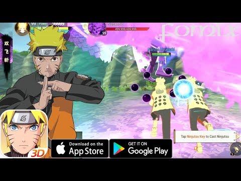 Лучшая MMO о Наруто на телефон - Naruto: Slugfest - обзор (Android Ios)