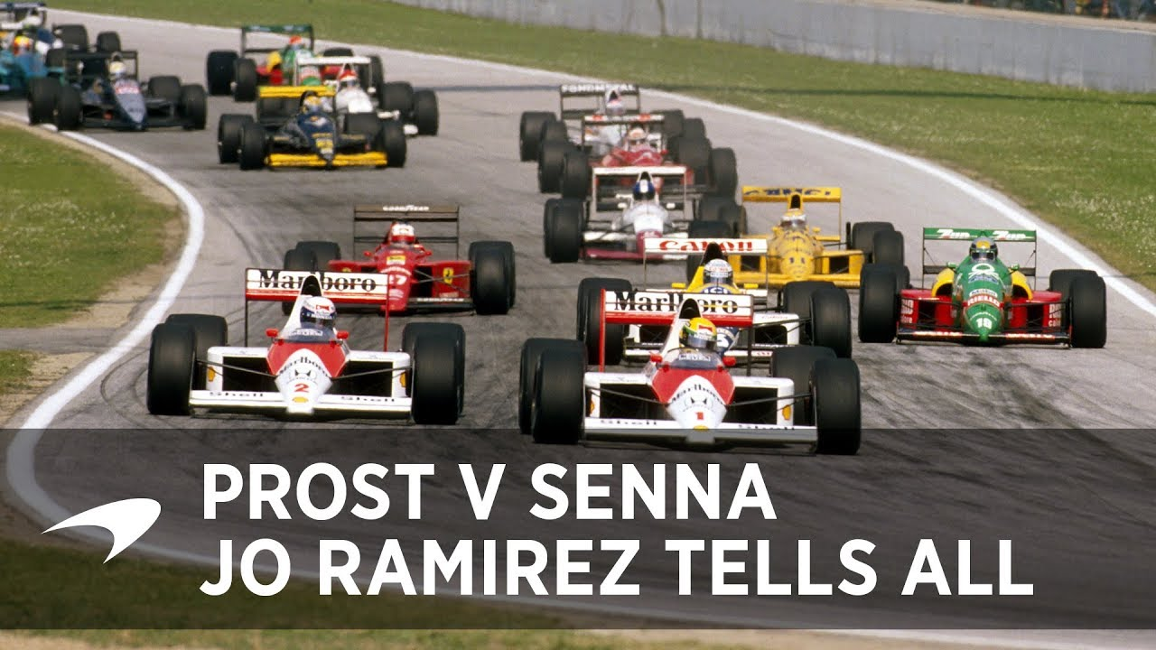 Classic McLaren: Jo Ramirez On Prost And Senna