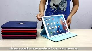 360 degree rotation case review for ipad pro