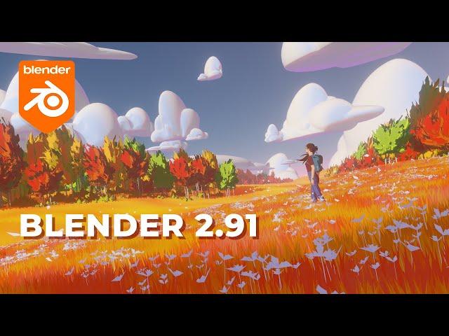 Обзор Blender 2.91