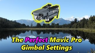 The Perfect Mavic Pro Gimbal Settings