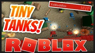 3x MVP Player! | Tiny Tanks - Roblox Game (Family Friendly)
