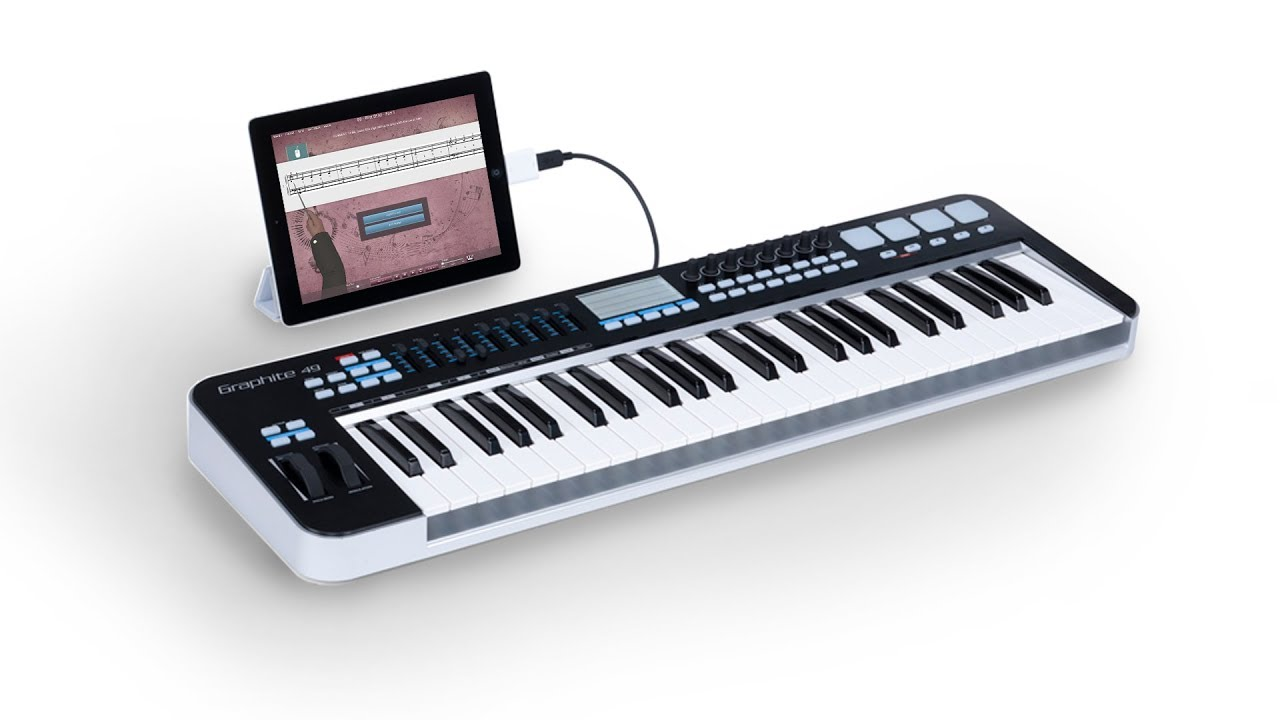 How To Connect MIDI Keyboard To iPad Or Computer With Cables