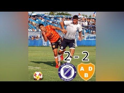 Primera C : SAN MARTÍN DE BURZACO 2 - 2 BERAZATEGUI (Los Goles)