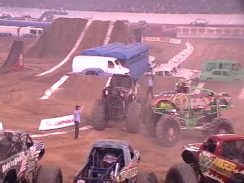 Pontiac Silverdome reopens with Domination in the Dome Monster Truck event