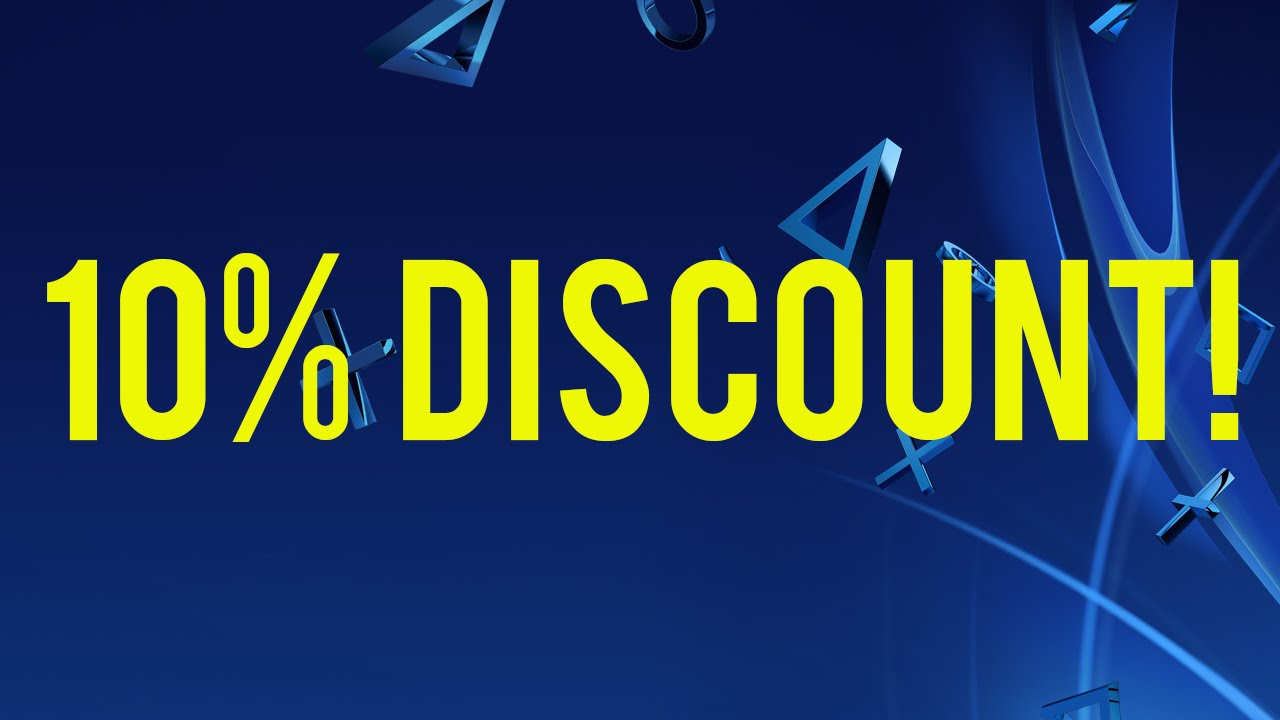 Playstation 10 Discount Code Information 10 Off Playstation Store Youtube