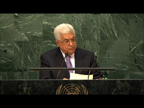 The settlements are illegal in every aspect: Abbas to UN