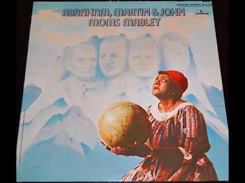 Moms Mabley -  Abraham, Martin & John - Full 1969 Vinyl Album