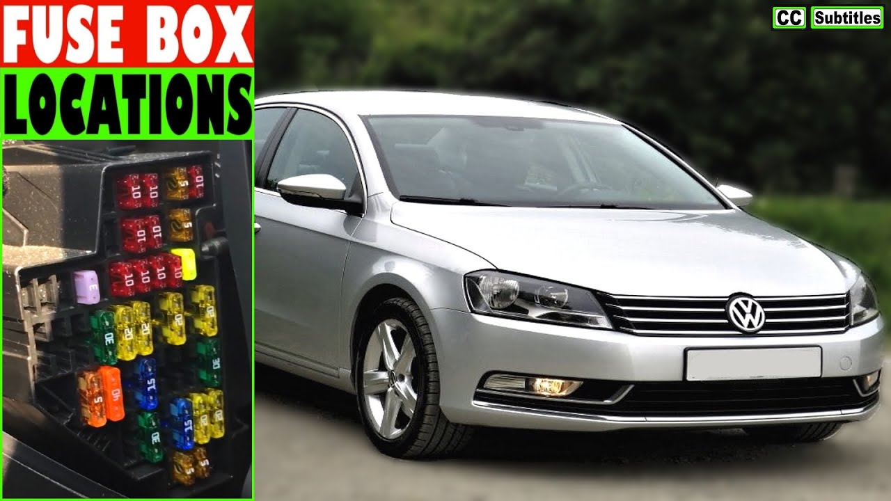 vw passat fuse box location and how to check fuses on vw passatvw passat fuse box [ 1280 x 720 Pixel ]