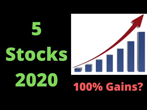 5 Stocks that Could Double in 2020