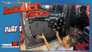 Ford Raptor get the doors Roadkilled Audison full DA Installer Diaries 230 part 1