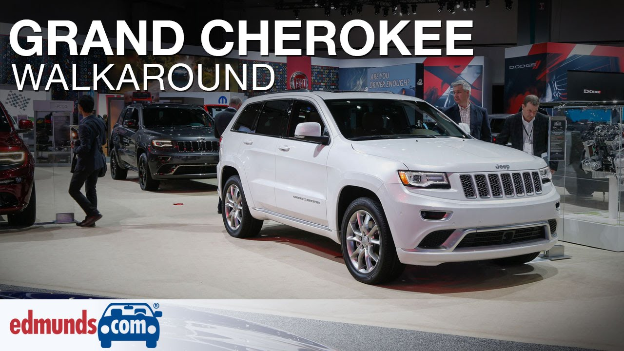 2016 Jeep Grand Cherokee Walkaround Review. Edmunds