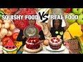Squishy Food Vs Real Food Challenge