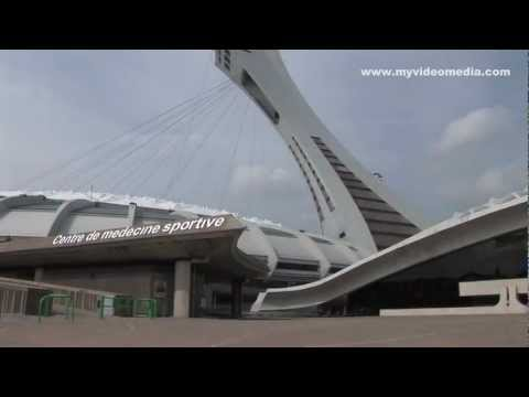 Olympic Stadium, Montreal - Canada HD Travel Channel