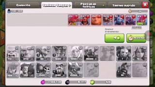 TESTANDO NOVA TROPA DO CLASH OF CLANS: Ariete de batalha