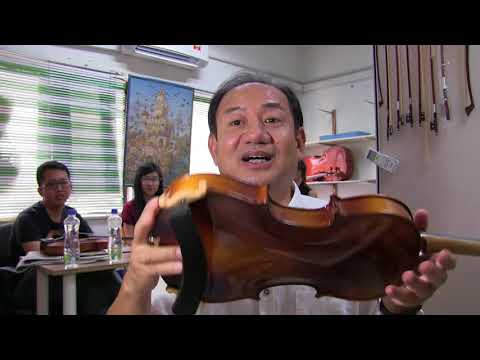 5, Make Factory made Violin Sounds Better, Summer Workshop Malaysia 2017