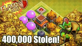 Yoyo Clash of Clans | HE STOLE 400,000 OF GOLD AND ELIXIR | Pride Revenge Attack!
