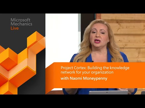 Project Cortex deep dive | Intelligent knowledge management built on SharePoint (Microsoft Ignite) thumbnail