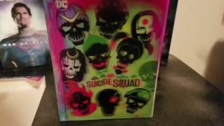 Suicide Squad Bluray Unboxing Target Exclusive