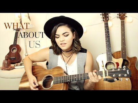 What About Us - P!nk Cover
