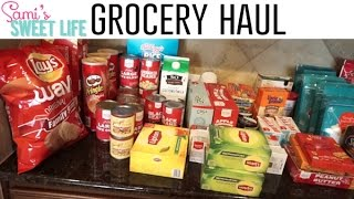 Grocery Haul & Meal Plan | Huge Monthly Groceries Stock Up, Target, HEB, Sprouts