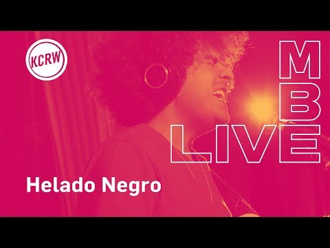 "Helado Negro performing ""Two Lucky""  on KCRW"