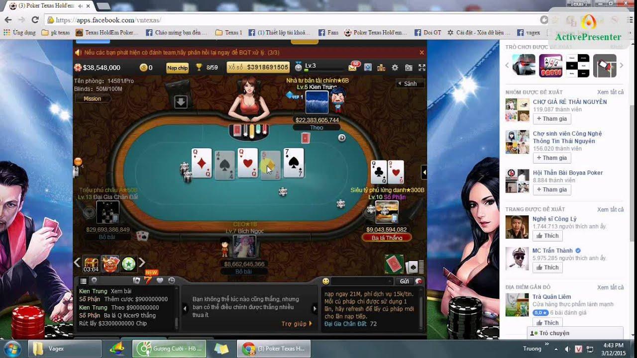 Bàn đấu TOP – Poker texas hold em Việt Nam – 34