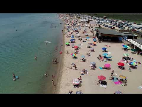 Opened Greek Beach during COVID-19 pandemic