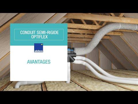 Conduit semi-rigide - Optiflex : avantages
