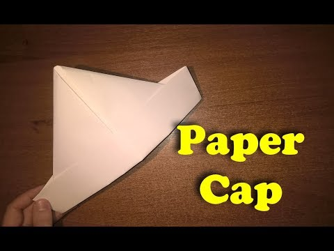 How to make a paper cap