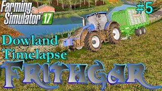 FS17 Timelapse, Dowland Farm Seasons #5 Grass Silage!