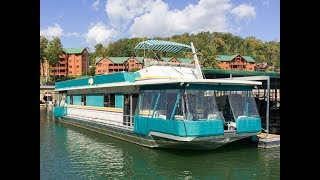 1990 Sumerset 16 x 67 Houseboat For Sale on Norris Lake TN